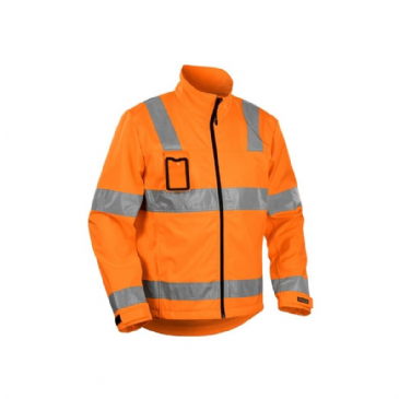 Blaklader 4838 High Vis Softshell (Orange)